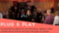 wedding reception ideas, disco, dj, wedding band, plug and play, evening entertainment