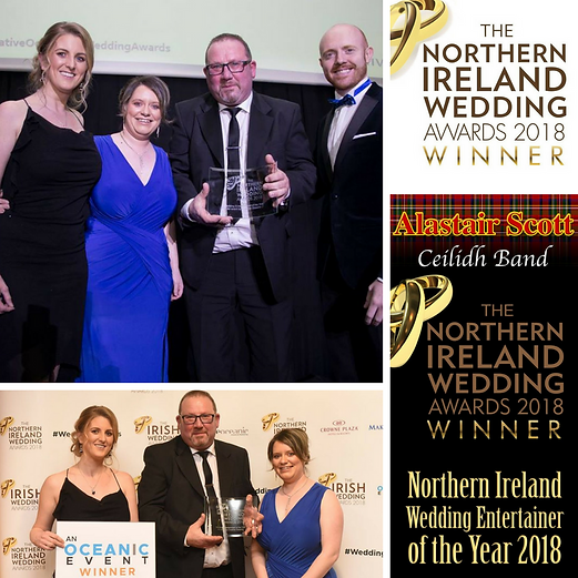 NI Wedding Awards, NIWA, Wedding Entetainer of the year, Alastair Scott Ceilidh Band, Ulster Scots Band