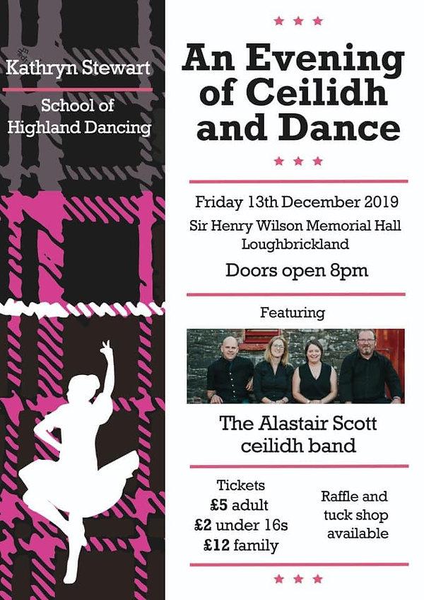 Kathryn Stewart School of highland danci