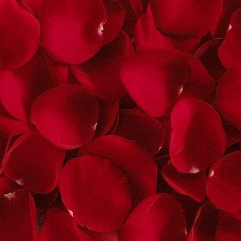 Лепестки роз красного цвета, 1 пакет-12л