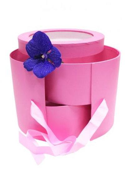 Подарочная коробка (Розовая)