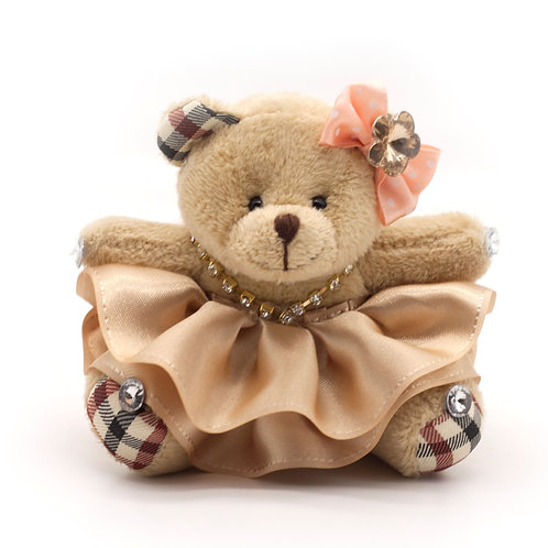Мишка для букета из игрушек (брелок)