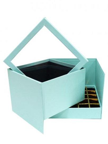 Подарочная коробка (Мятная)