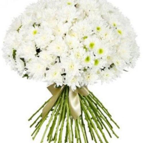 Букет из хризантем (19 шт.)