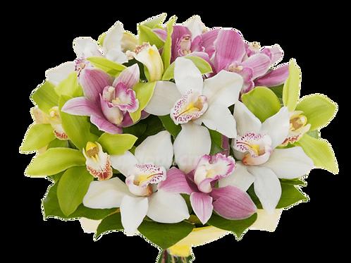 Букет из орхидей (21 шт.)