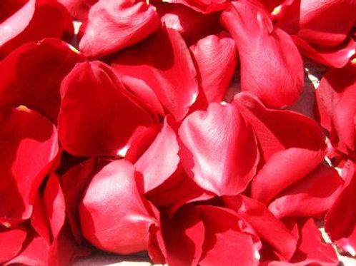 Лепестки роз алого цвета, 1 пакет-12л
