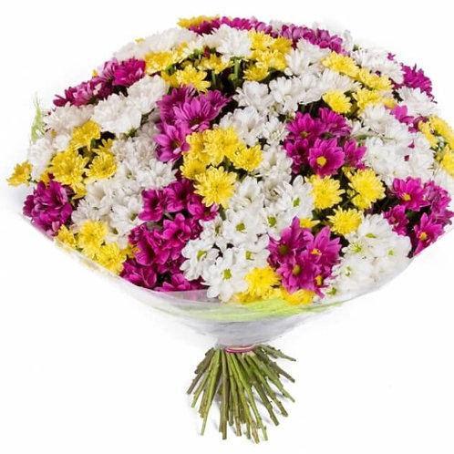 Букет из хризантем (39 шт.)