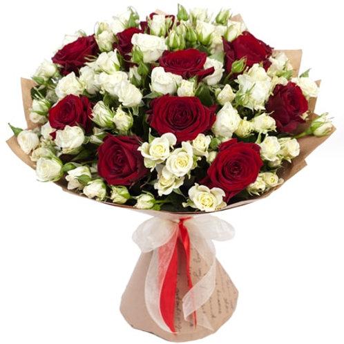 Букет из роз (29 шт.)
