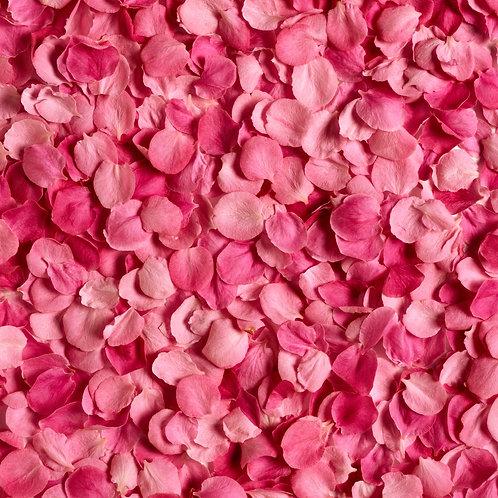Лепестки роз розового цвета, 1 пакет-12л