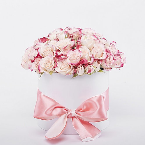 Шляпная Коробка Розы 25 шт.