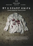 Poster by a sharp knife