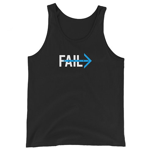 Fail Forward (Black Tank)