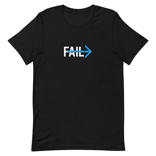 Fail Forward (Black Tee)