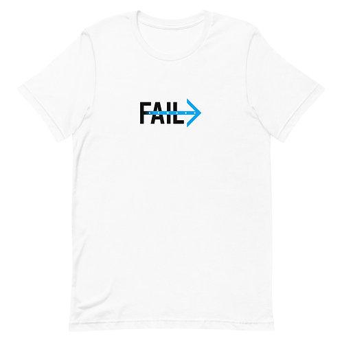 Fail Forward (White Tee)