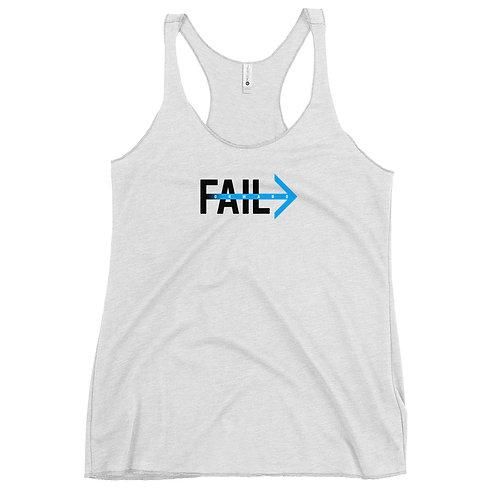 Fail Forward (Women's White Tank)
