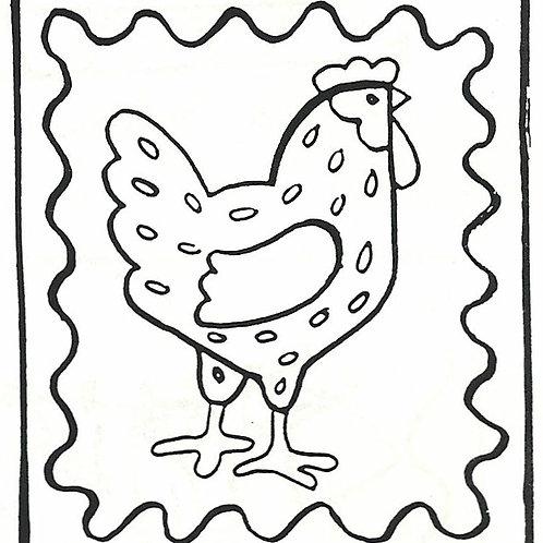 Speckled Hen SM Pattern REO Designs
