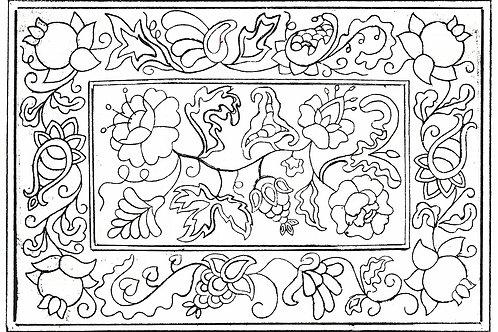 Floral Rhapsody Pattern REO Designs