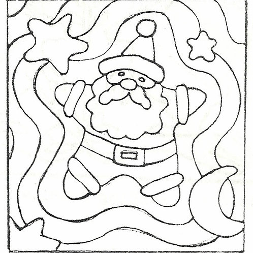 Star Santa Pattern REO Designs