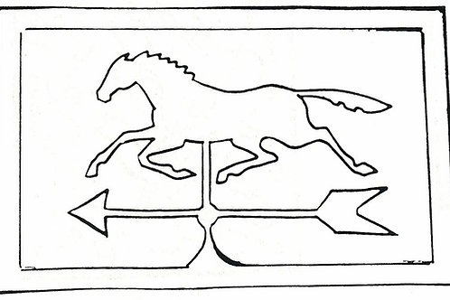 Horse and Weather Vane Pattern REO Designs
