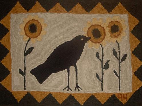Crow & Sunflowers Kit by Beth Sekerka