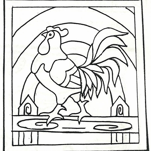 Rooster LG Pattern REO Designs