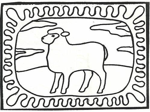 Little Sheep Pattern REO Designs