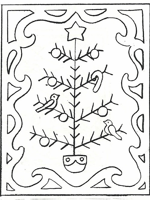 Feather Tree Pattern REO Designs