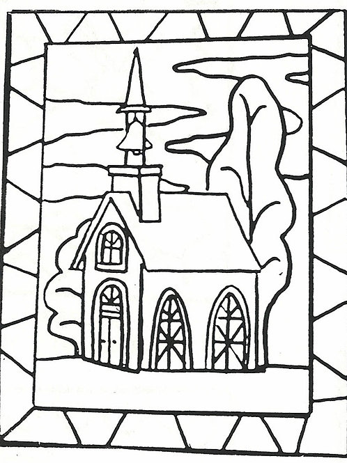 Lil Church Pattern REO Designs