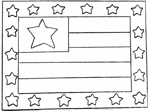 Flag Pattern REO Designs