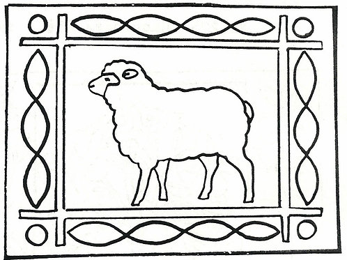 Single Sheep Pattern REO Designs
