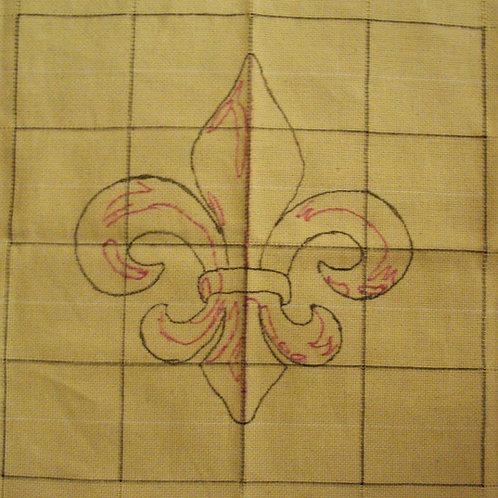 Fleur De Lis Pattern