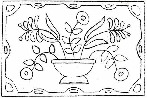 Flower Bowl Pattern REO Designs