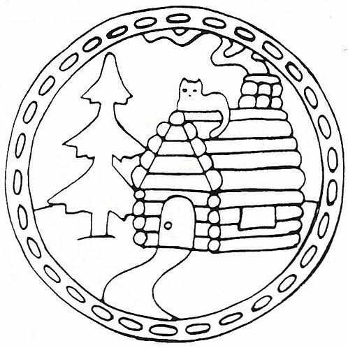 Log Cabin Pattern REO Designs