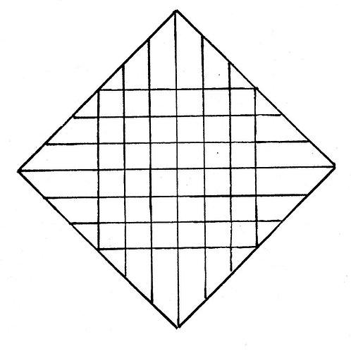 Color Diamond Pattern