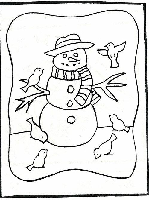 Snowman Pattern REO Designs