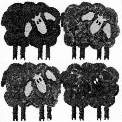 Four Sheep Pattern by DiFranza