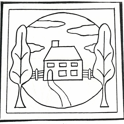 Little House Pattern REO Designs