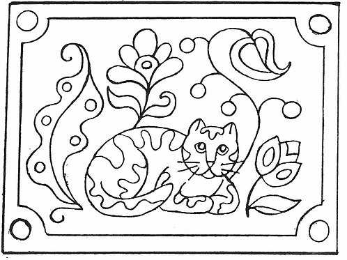 Secret Cat Pattern REO Designs