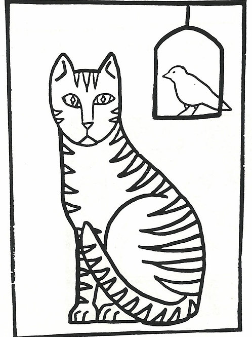 Tiger Cat Pattern REO Designs