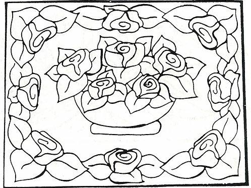 Rose Bowl Pattern REO Designs
