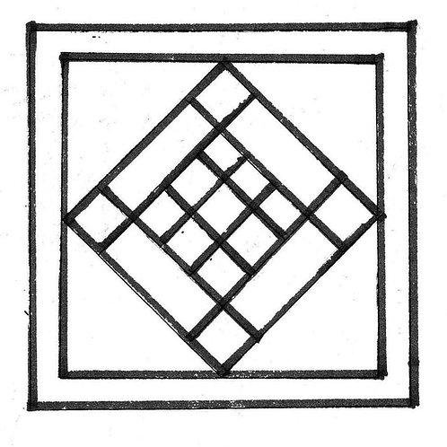 Grandma's Quilt Square Pattern