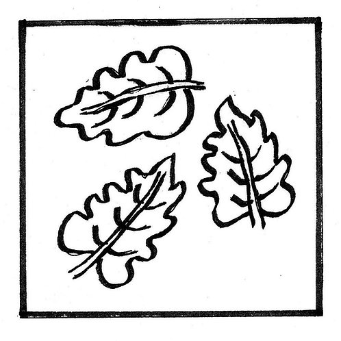 Falling Leaves Pattern