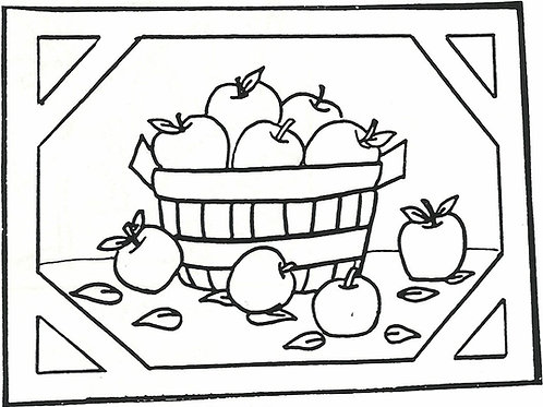 Apple Basket Pattern REO Designs