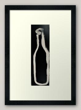"""""""Bottle"""" Framed Art Print"""