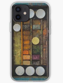 """""""Antique Watercolour Set"""" iPhone Case & Cover"""