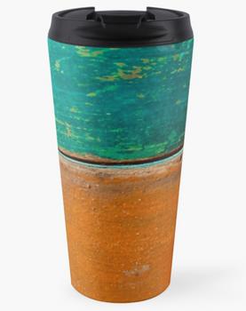 """Close-up of Pantry Boxes"" Travel Mug"