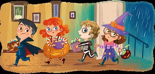 Grandma's Halloween Stories Mugs