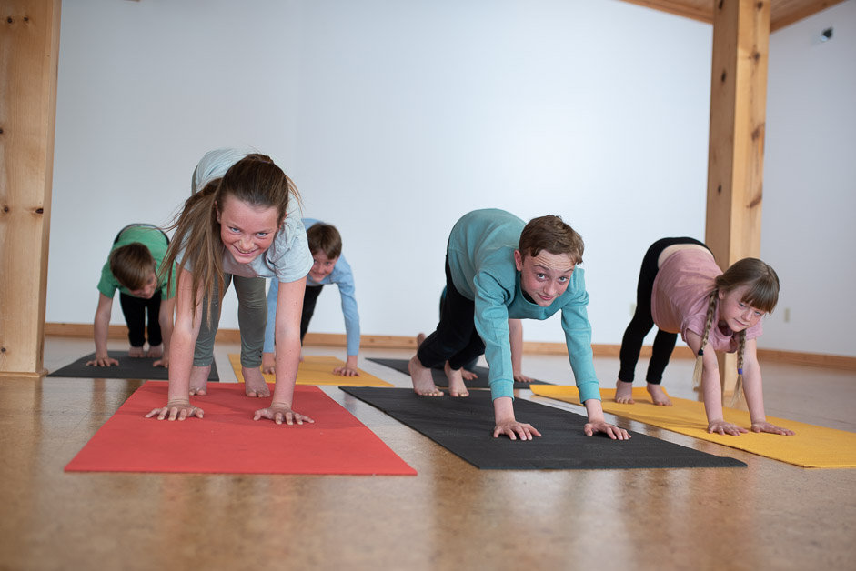 Yoga for Kids (Ages 6-11) In Studio