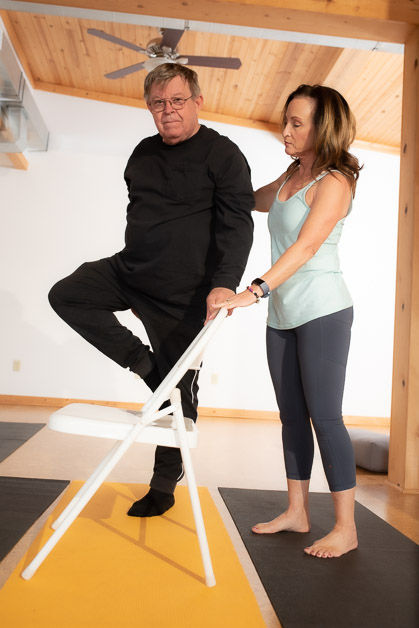 Chair Yoga - IN STUDIO