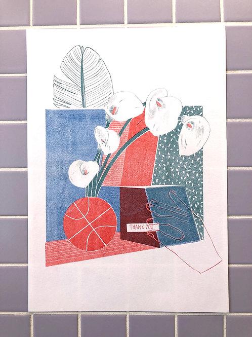 Still Life No. 2 - Riso Print